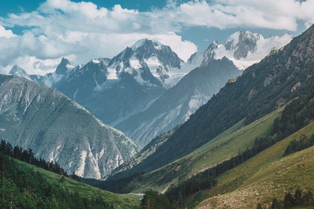 Elbrus im Sommer