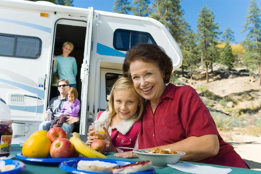 Erlebnisurlaub in einem Wohnwagen
