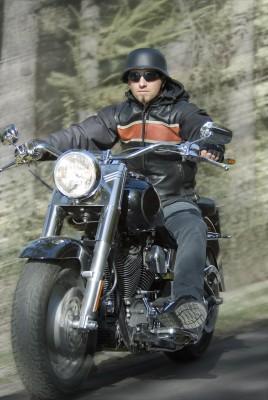 Fahrspaß mit der  Harley-Davidson Fatboy
